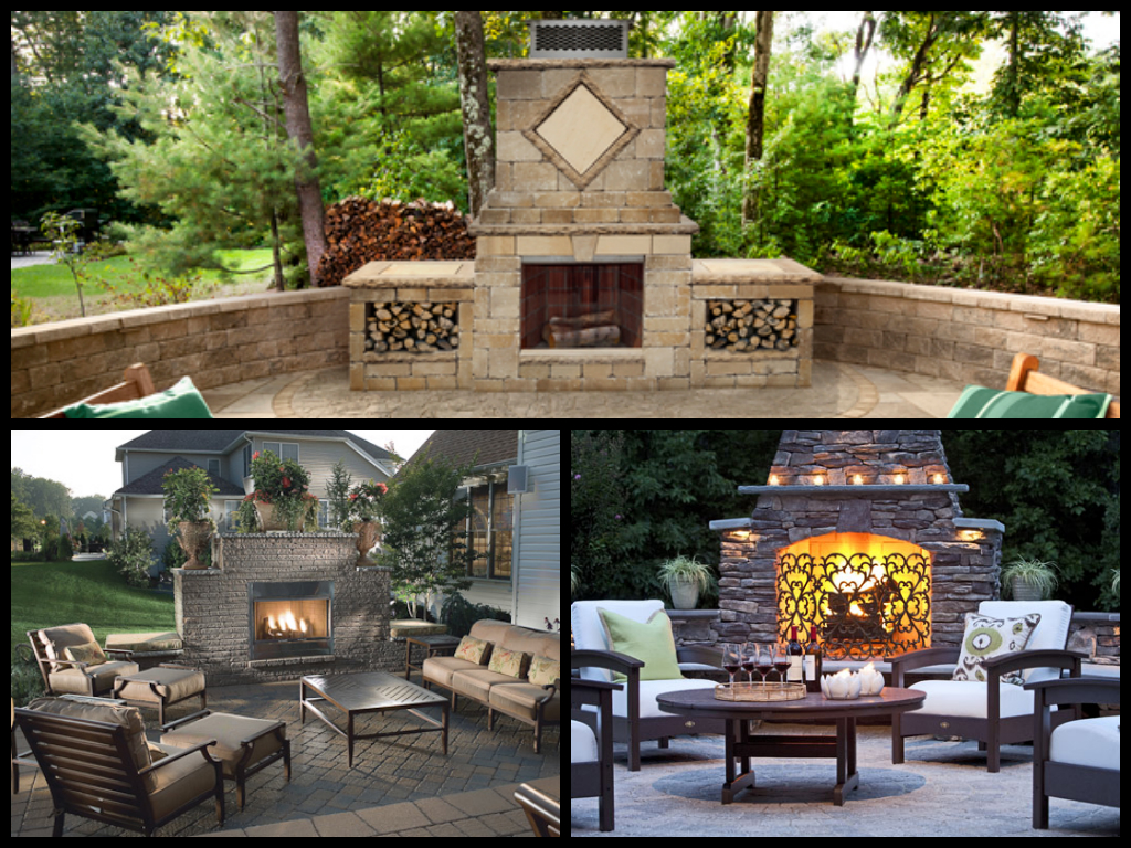 How to Stay Safe with Your Outdoor Fireplace / Firepit on Outdoor Fireplace For Deck id=87966