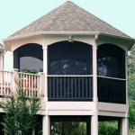 Screened Gazebo