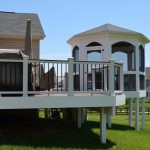 Gazebo with Composite Deck and Rail System