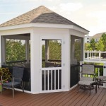 Gazebo with Trex Composite Deck