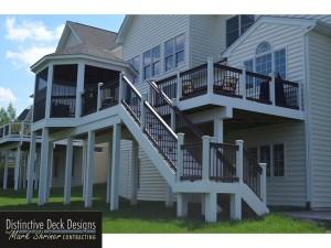 Deck Builder Northern Virginia Stair Style