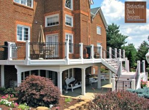 If you want to pursue an under-deck conversion, contact Distinctive Deck Designs of Northern Virginia today!