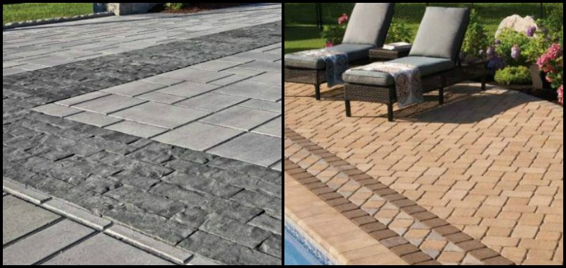 Hardscape Design Techo Bloc Examples - distinctivedeckdesigns.com - Complimentary Paver Styles Blog