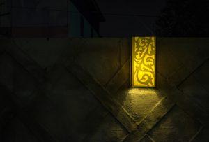 Yellow Outdoor Lighting - virginiadeckdesigns.com - Shutterstock