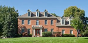 colonial-red-brick-home