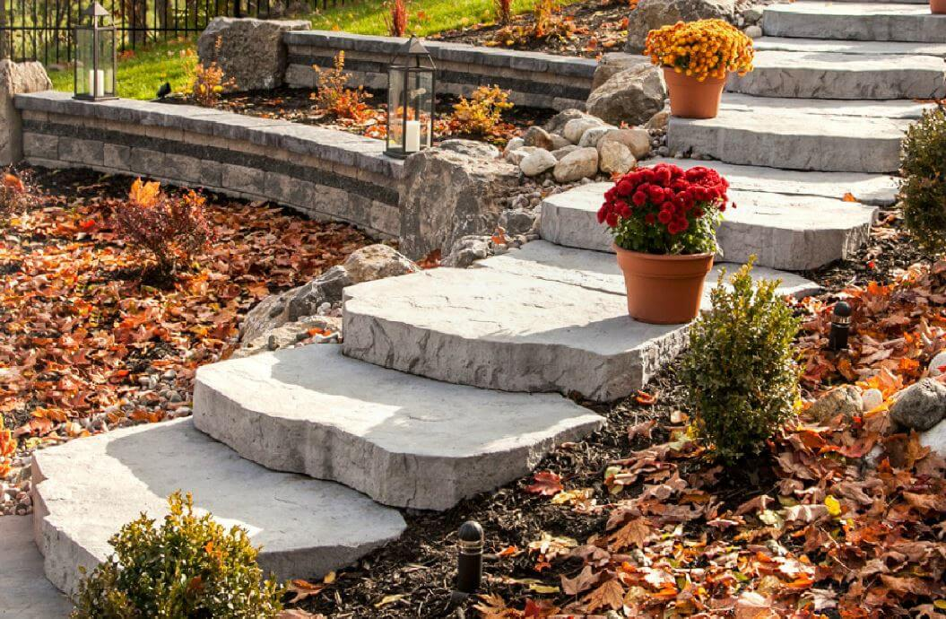 Techo Bloc Maya Steps For Patios And Gardens