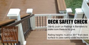 deck safety check from Distinctive Deck Designs