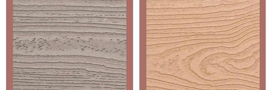 Reddish home trex decking colors